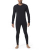 Icebreaker M's Zone LS Crewe Black/Monsoon